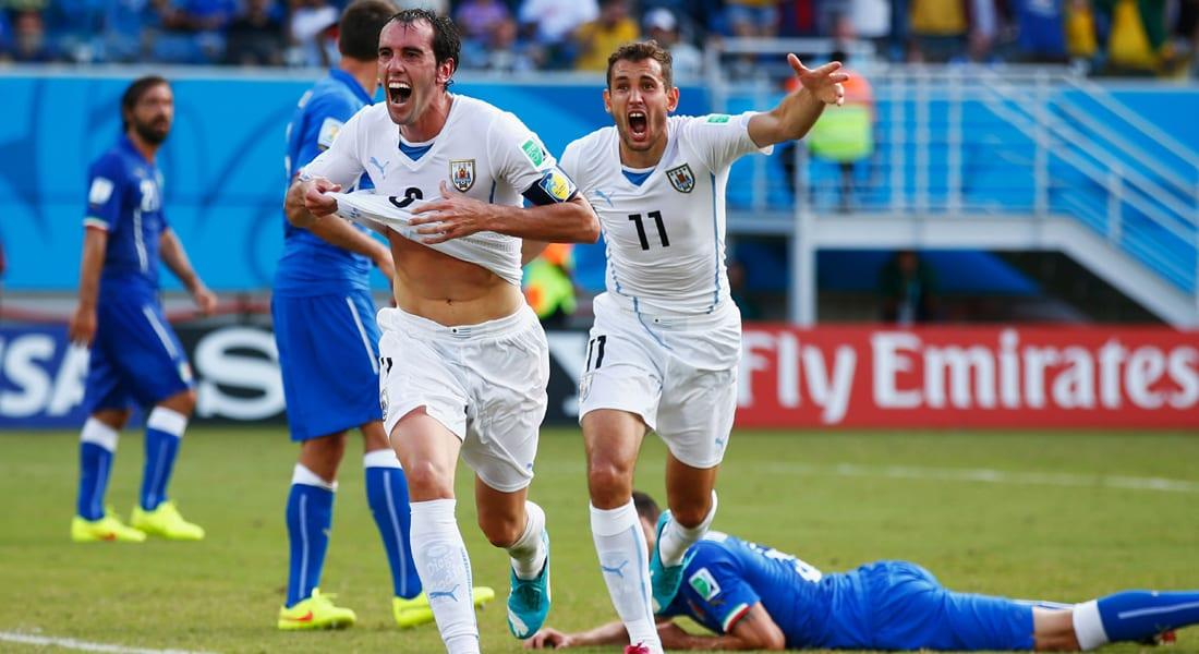 البرازيل 2014.. إيطاليا تودع المونديال مبكراً ونقطة وحيدة لمنتخب إنجلترا