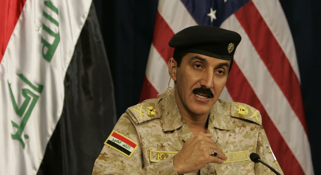 المتحدث باسم الجيش العراقي لـCNN: لم نسجل أي خرق لطائرات أجنبية.. ولم نطلب مساعدة من دمشق أو طهران