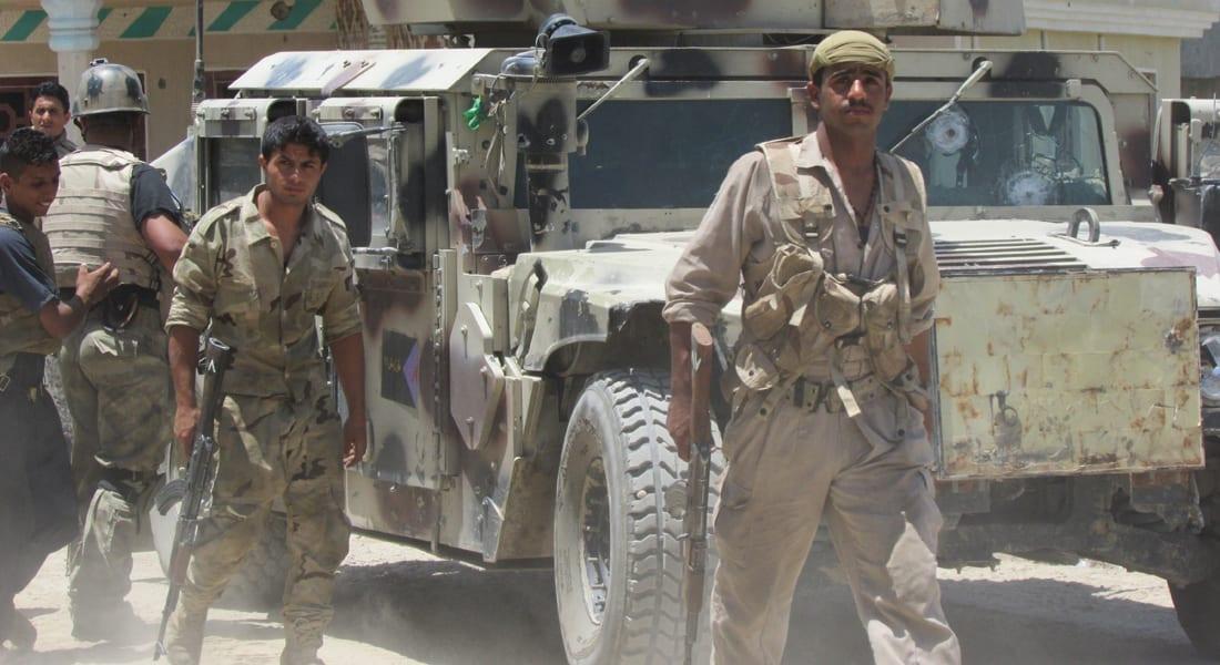 بالفيديو.. العراق يحرك قواته لتأمين طريق بغداد- سامراء