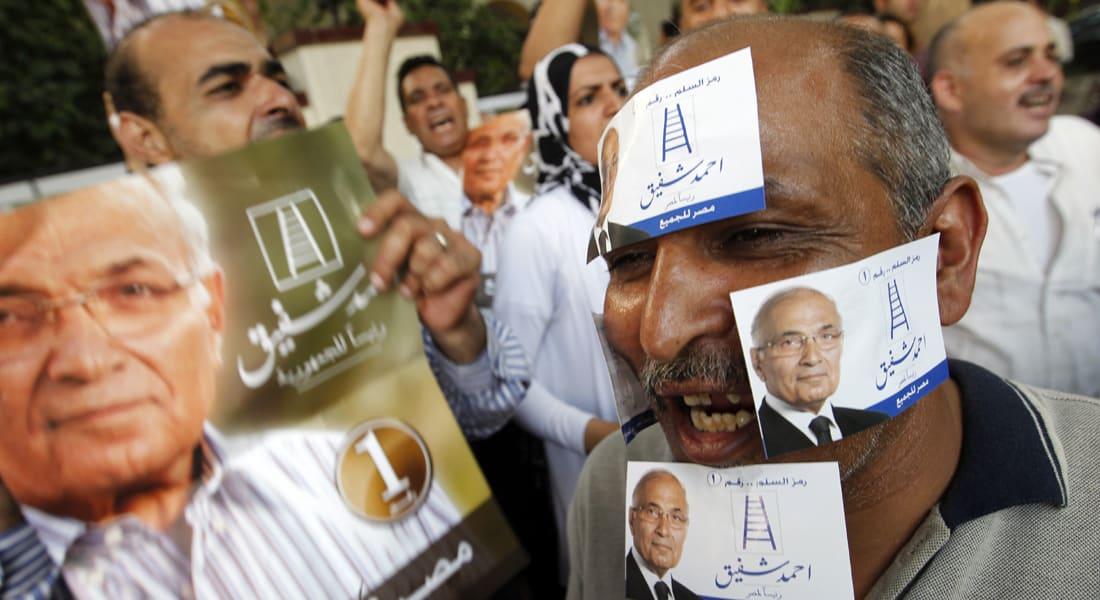 """مصر.. العليا للانتخابات ترفض طعن شفيق بـ""""تزوير"""" فوز مرسي"""
