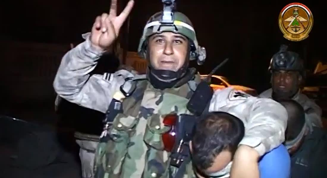 بالفيديو.. سلاح الجو العراقي يقتنص مخابئ يعتقد أنها لداعش
