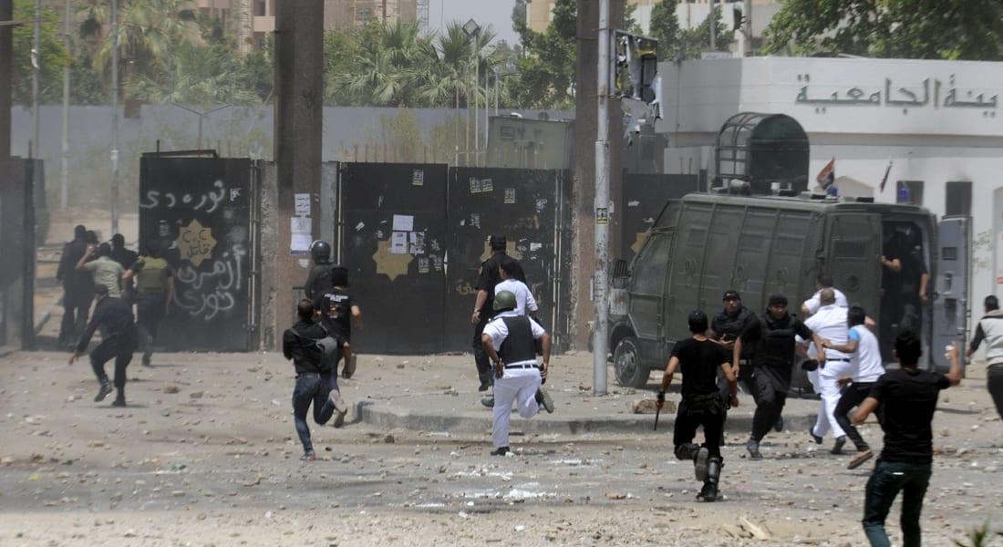 اشتباكات بين الأمن المصري وأنصار مرسي وأنباء عن سقوط قتلى وجرحى