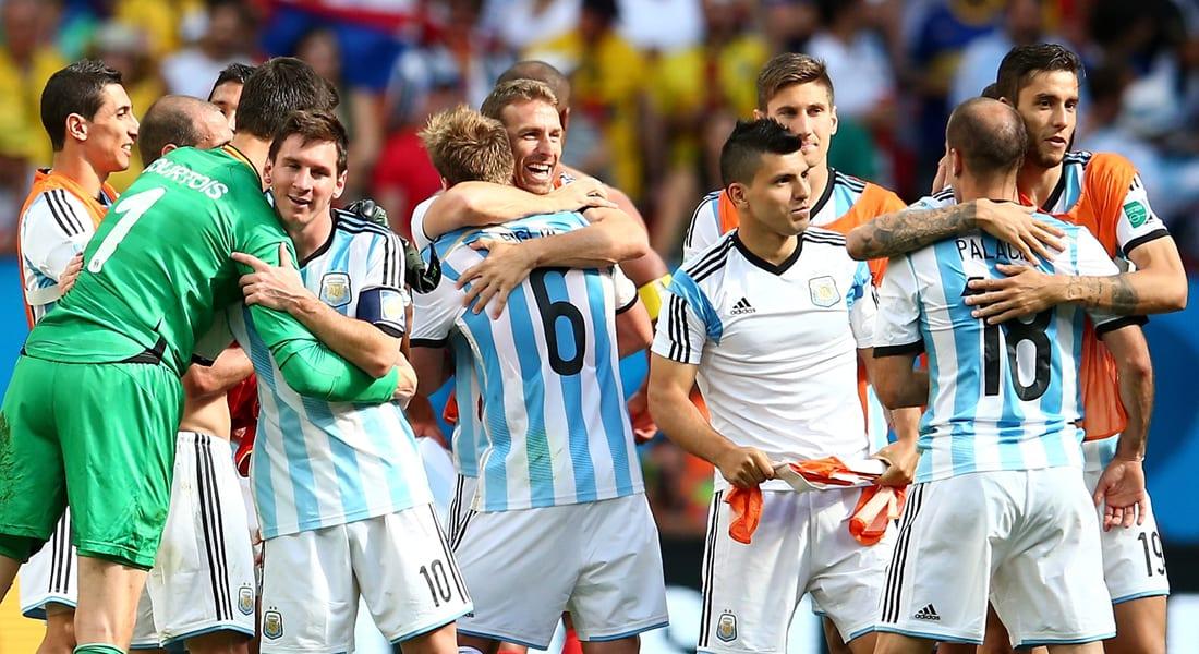 كأس العالم 2014: الأرجنتين تتجاوز بلجيكا بهدف مقابل لا شيء وتتأهل لنصف النهائي