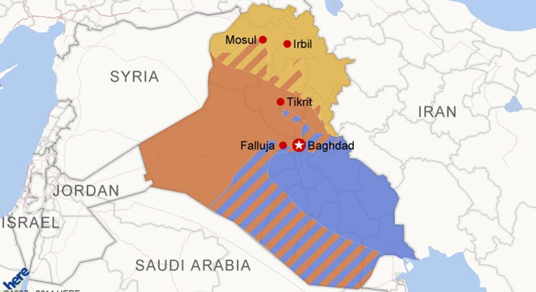 تحليل.. هل ينقسم العراق لثلاثة أجزاء؟
