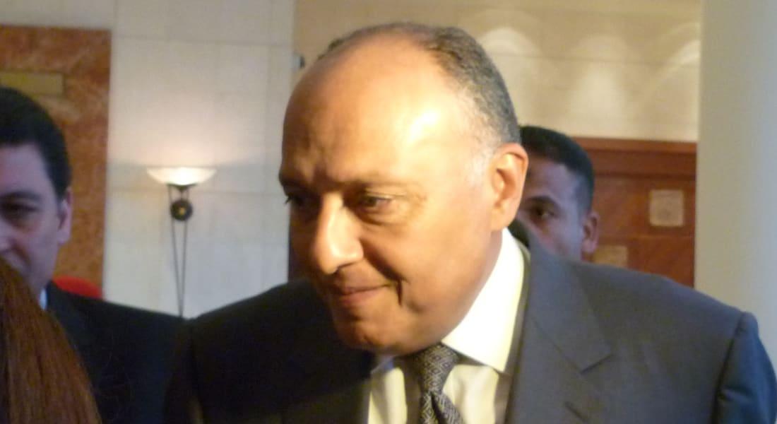 وزير خارجية مصر: وجود حركات إرهابية في سيناء يحتم علينا ضبط حدودنا المشتركة مع غزة