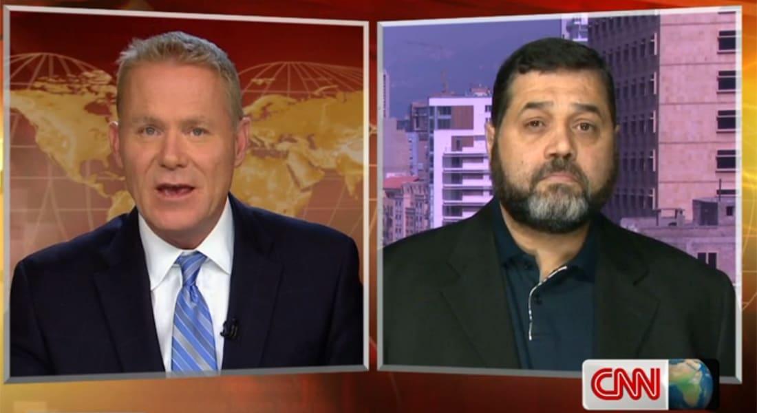 أسامة حمدان لـCNN: حماس لن تجلس وتعد الصواريخ بغزة ولن نقبل العيش تحت رحمة قصف إسرائيل