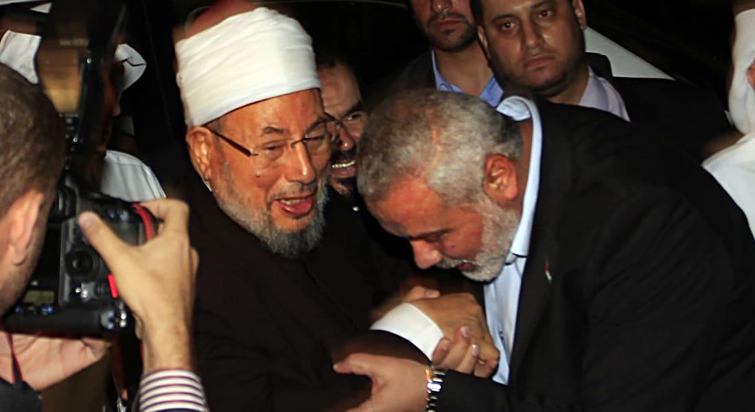 """القرضاوي: لا بد من هبة لمساعدة الفلسطينيين بـ""""جهادهم"""".. والمعاصي لا تبطل الصوم"""