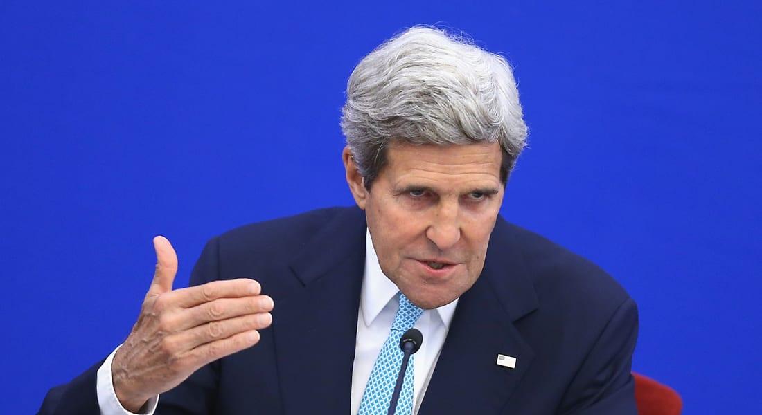 كيري يفكر بزيارة المنطقة ... مع من سيتحدث للتأثير في حماس؟