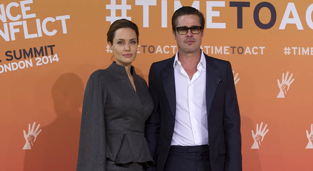 أنجلينا جولي وبراد بيت.. معا وجها لوجه في فيلم جديد