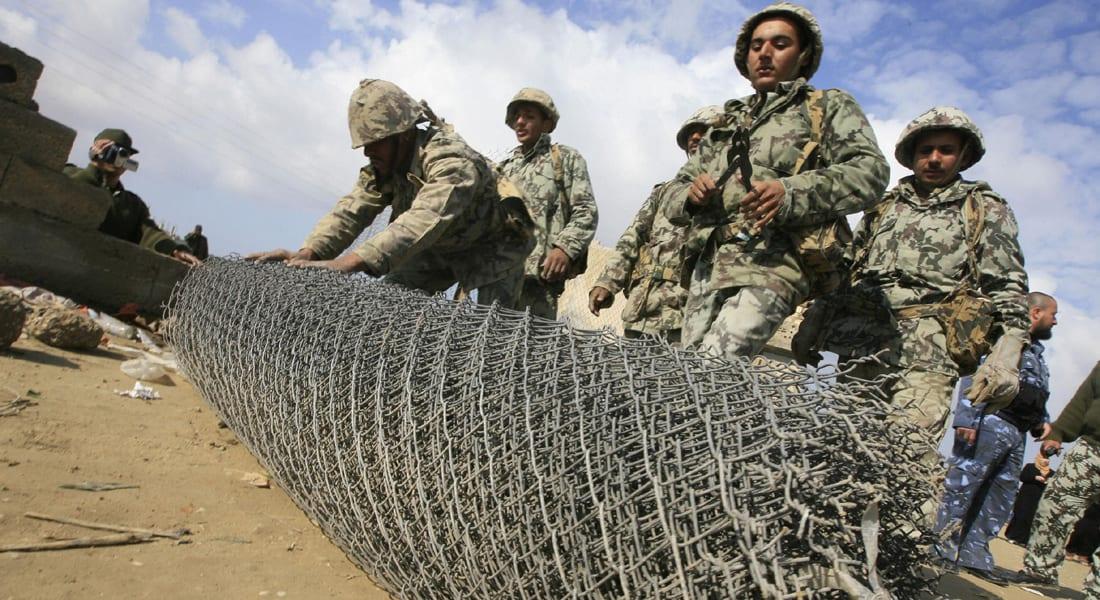 25 قتيلا وجريحا من قوات حرس الحدود المصرية في هجوم لمسلحين مجهولين بالجنوب