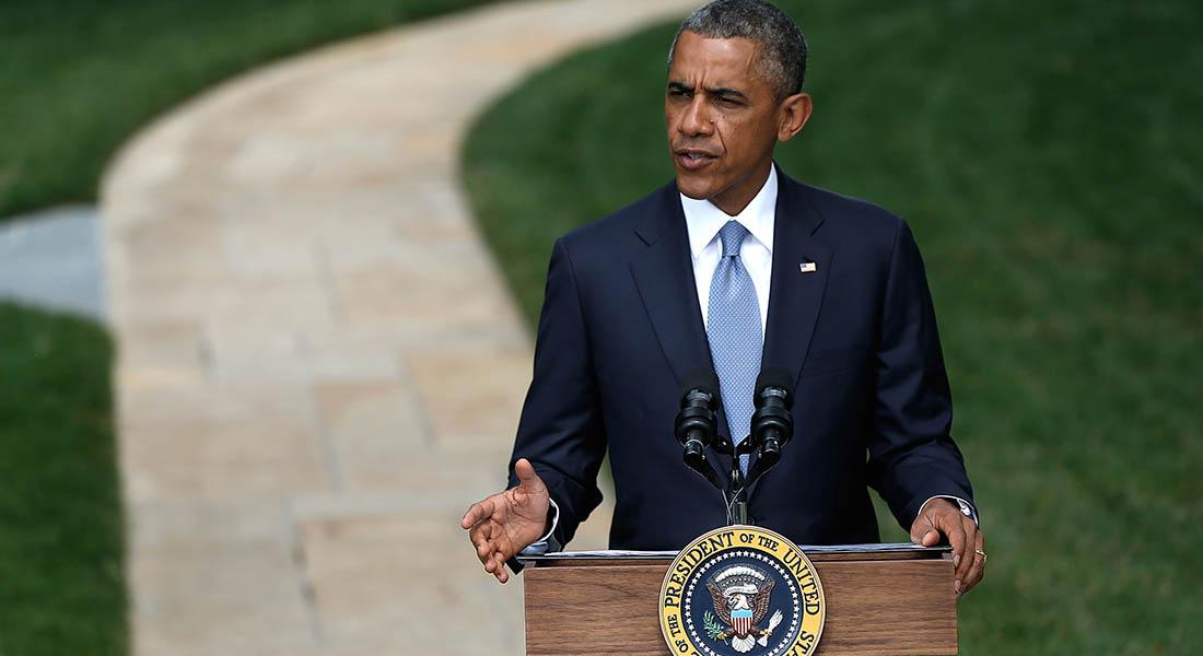 أوباما: هناك أمل بحل دبلوماسي في أوكرانيا ويجب وقف إطلاق النار في غزة
