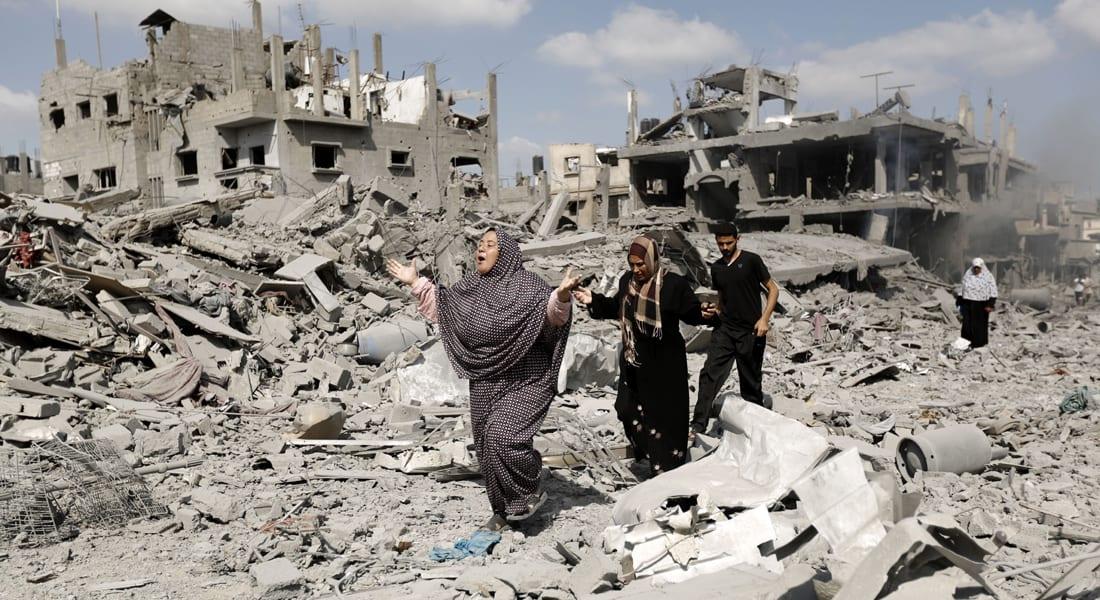 مصادر طبية: انتشال 40 جثة ترفع حصيلة القتلى بغزة إلى 961