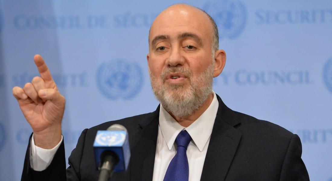 سفير إسرائيل بمجلس الأمن: حماس تشبه داعش وبوكوحرام وتوقيع إيران وقطر ظاهر على الصواريخ والأنفاق
