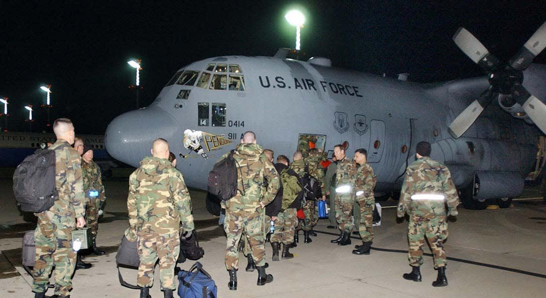 البنتاغون:  العثور على جثة في حجرة عجلات طائرة C-130 عسكرية