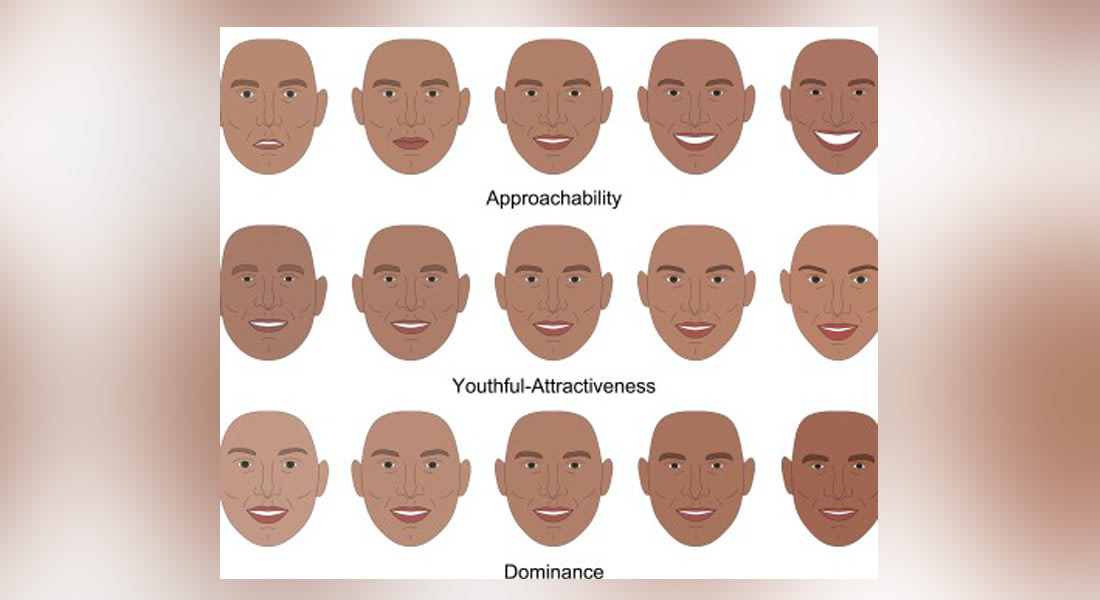 انطباعات مختلفة تتأثر بملامح الوجه بأقل من 100 ميلي ثانية