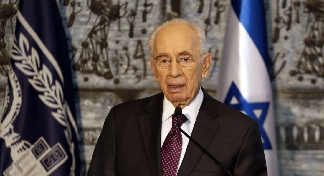 بيريز CNN: لا شرعية لحماس ونريد عودة السلطة الوطنية لغزة وعباس أشجع زعيم عربي