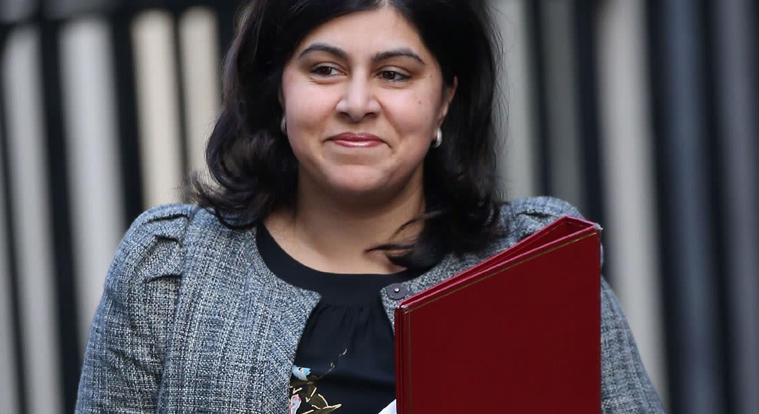 استقالة أول وزيرة مسلمة في الحكومة البريطانية احتجاجا على مواقف لندن تجاه غزة