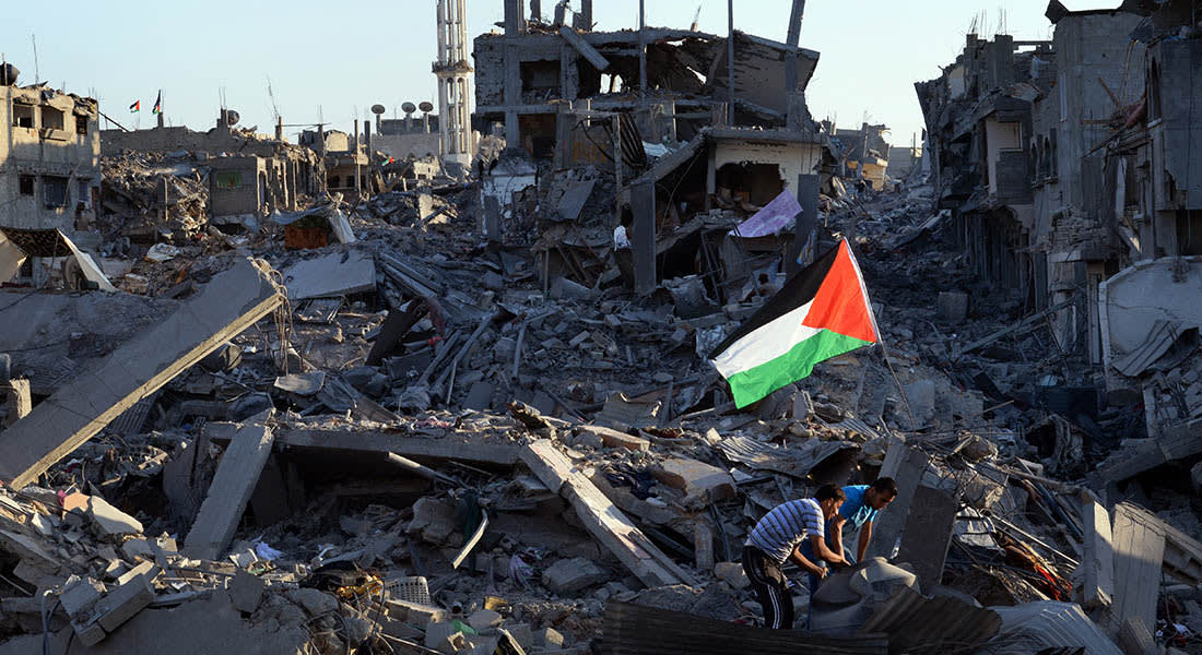 غزة: 1911 قتيلا فلسطينيا ودعوات دولية لوقف فوري لإطلاق النار