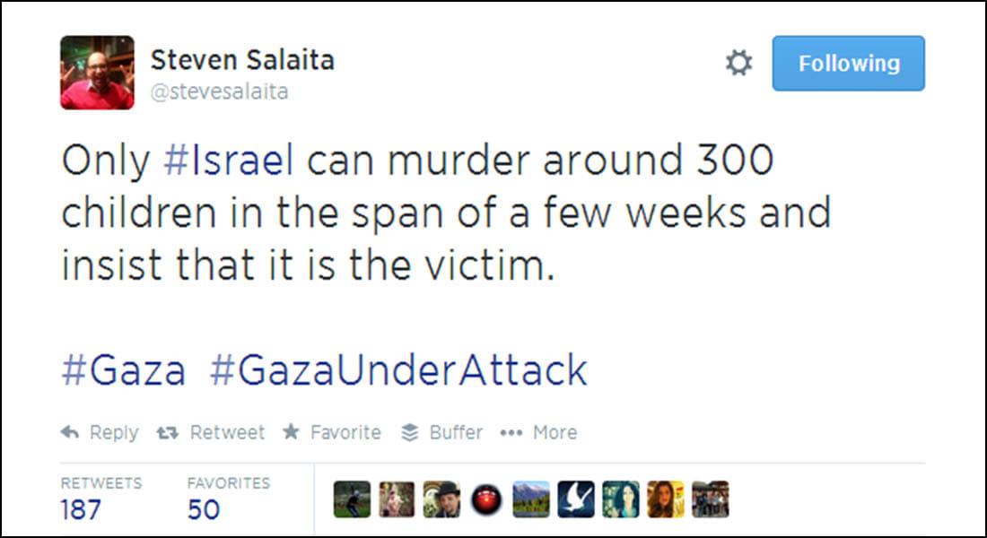 تغريدات منددة بالهجمات الإسرائيلية على غزة تكلف أستاذا جامعيا وظيفته