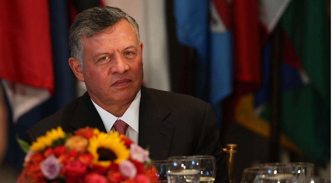 """الملك عبد الله الثاني: الحل في غزة """"الدولتان"""" وفي العراق """"حكومة عادلة"""" وفي سوريا """"الحوار"""""""