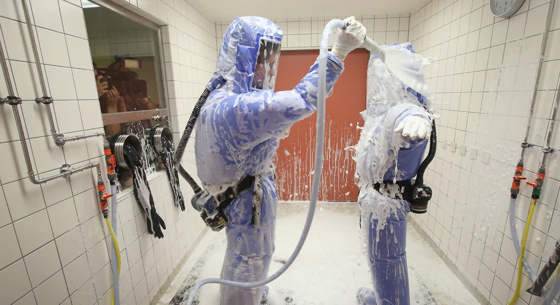 """مصل """"زيماب"""" التجريبي لـ""""علاج"""" إيبولا بطريقه إلى غرب إفريقيا"""