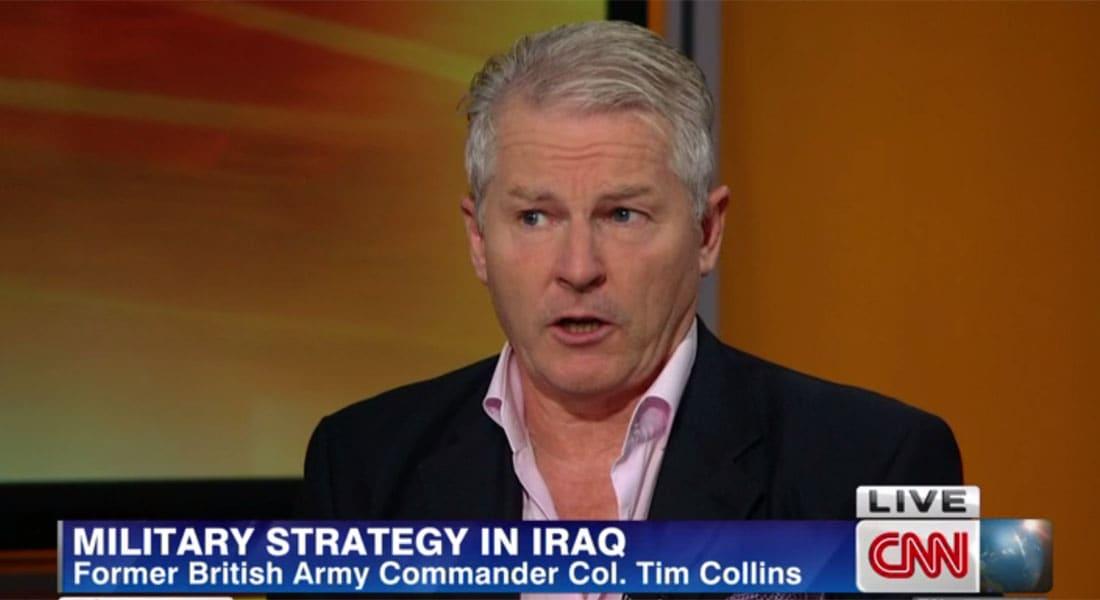 عقيد بريطاني لـCNN: نحن أوجدنا العراق عام 1920.. داعش قد تنتصر كما الشيوعية بروسيا وسنة الشرق ضحايا اضطهاد