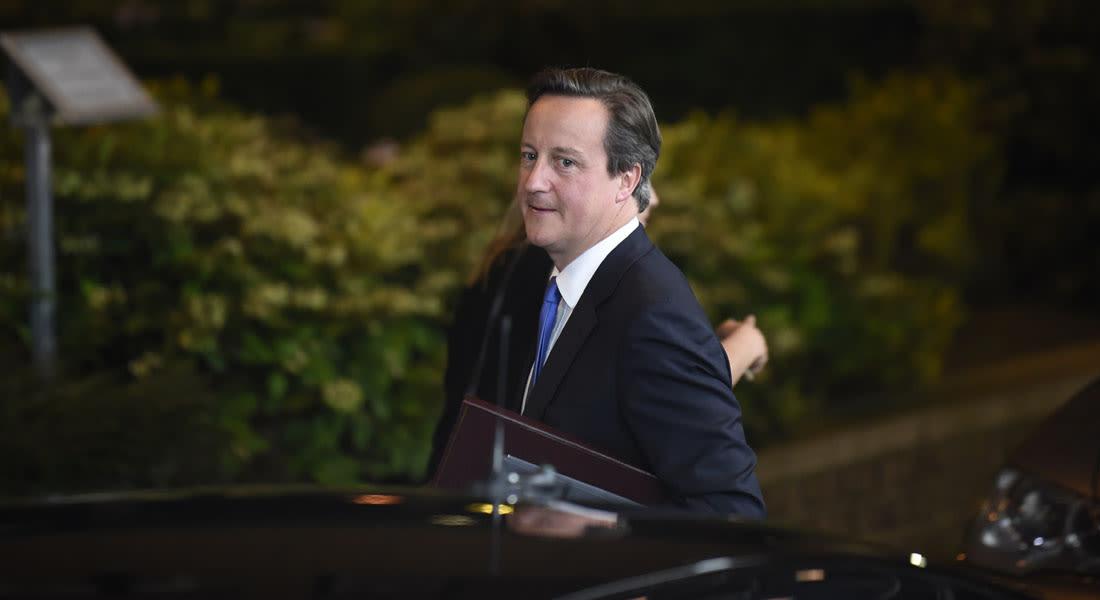 """كاميرون: """"داعش"""" قد تستهدفنا بشوارع بريطانيا وربما نتعاون  مع إيران للتصدي لتهديدها"""