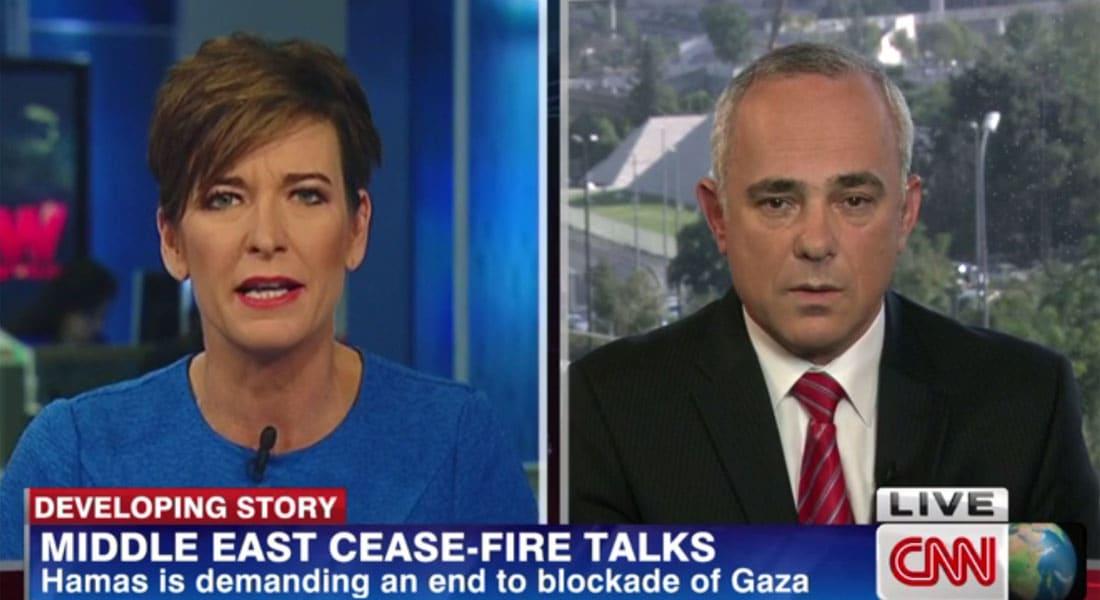 وزير إسرائيلي لـCNN: مطار بغزة يعني سوقا حرة للصواريخ.. ويمكن تأكيد نزع السلاح كما بسوريا