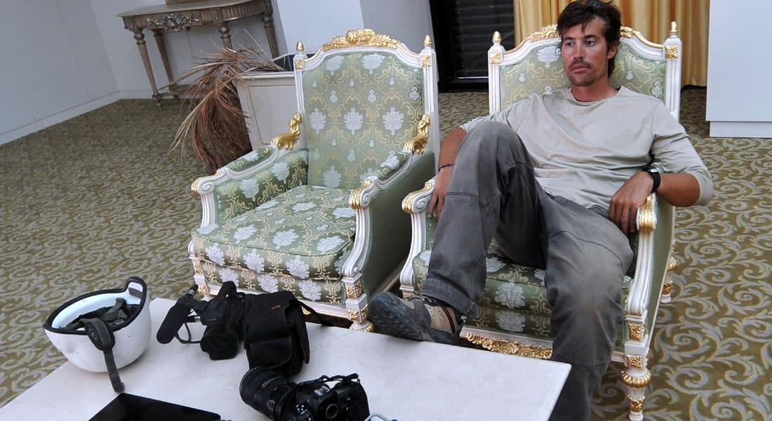 خاطفو الصحفي جيمس فولي طالبوا بـ100 مليون يورو.. وبعثوا برسائل سياسية مليئة بالغضب