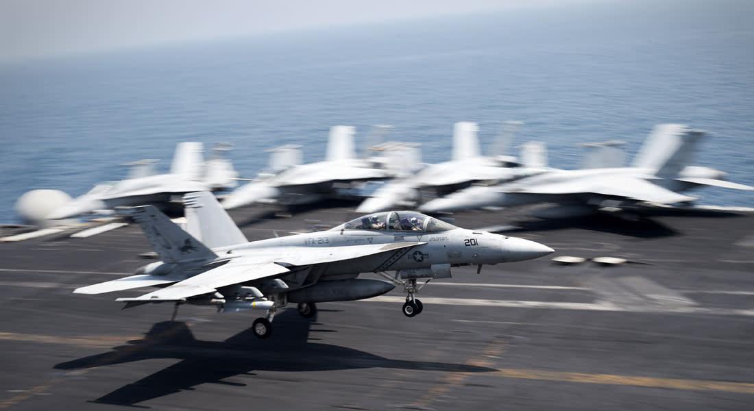"""البنتاغون:  استهداف """"داعش"""" بـ90 غارة منذ بدء الحملة الجوية"""