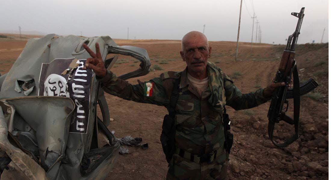 """""""داعش"""" يعترف بـ 50 قتيلاً في معركة جلولاء ويتوعد """"عملاء البيشمرغة"""""""