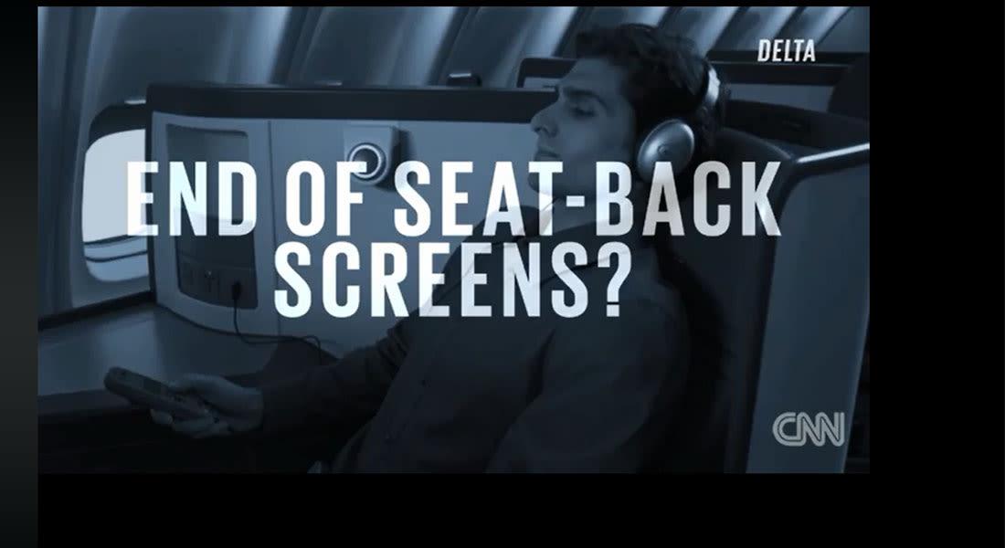 """شاشات الترفية بالطائرات قد """"تختفي"""".. فهل تكون آخر """"ضحايا"""" تقشف النقل الجوي؟"""