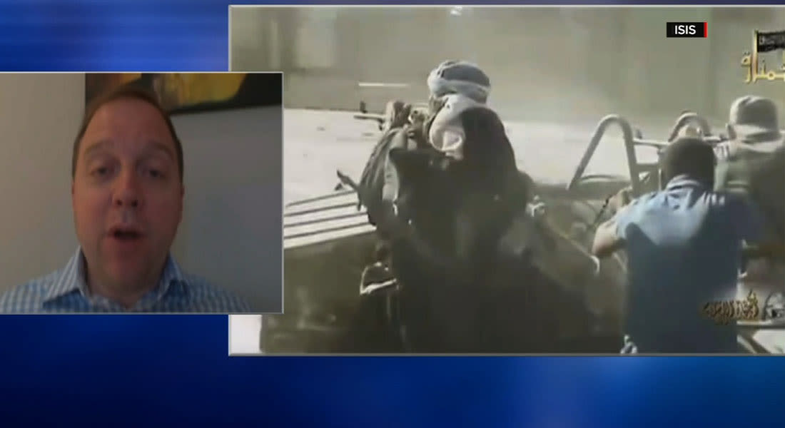 أندرو تابلر لـCNN: السنّة يقاتلون القوى الإيرانية بدمشق وبغداد.. وخيارهم بسوريا الموت على يد الأسد أو الانضمام لداعش