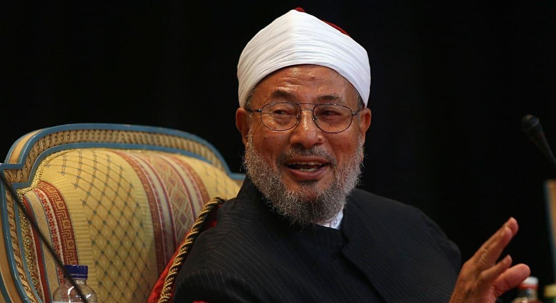 """القرضاوي يبدي رأيه بدولة """"خلافة داعش"""".. ويؤكد الإسلام السياسي في مصر انتصر ولم يفشل"""
