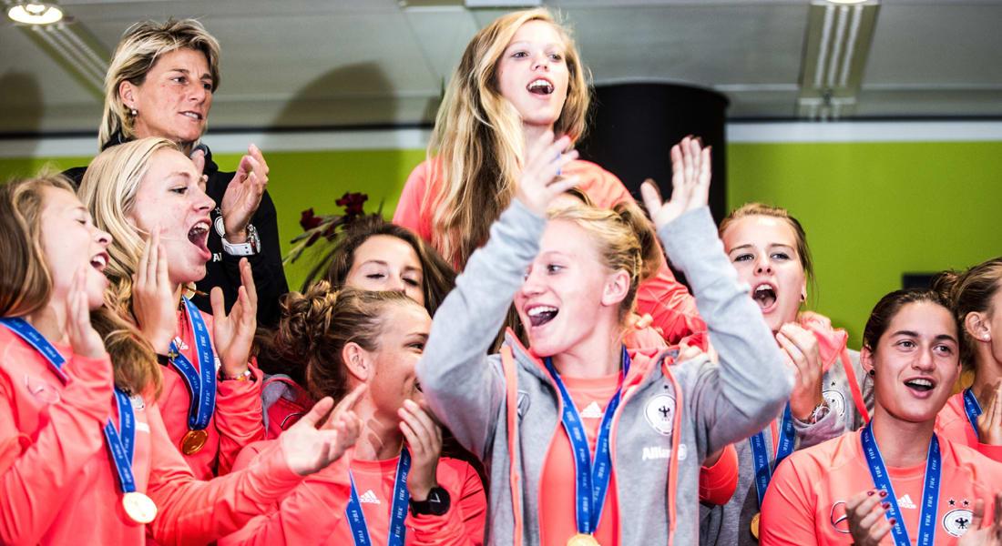 الألمانيات يلحقن بمنتخب الرجال ويحرزن لقب كأس العالم للسيدات تحت سن الـ20