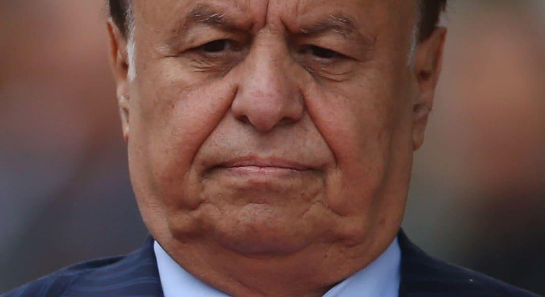 هادي يتهم الحوثيين بإثارة المذهبية ويتعهد بالبقاء مع أولاده لقيادة المدافعين عن صنعاء المحاصرة