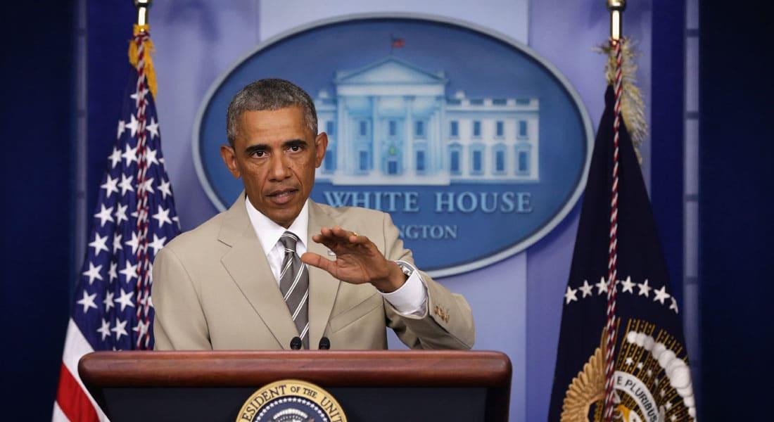 """أوباما حول مجابهة """"داعش"""" في سوريا: لن نقوم بذلك بمفردنا"""