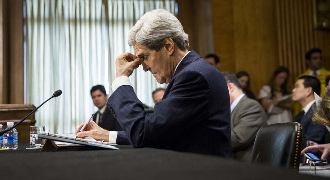 """الكونغرس يطلب شهادة كيري بشأن استراتيجية أوباما في مواجهة """"داعش"""""""