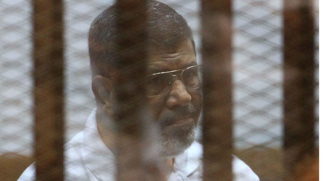 """مصر: إحالة مرسي إلى """"الجنائية"""" بتهمة تسريب وثائق تخص الأمن القومي إلى قطر"""