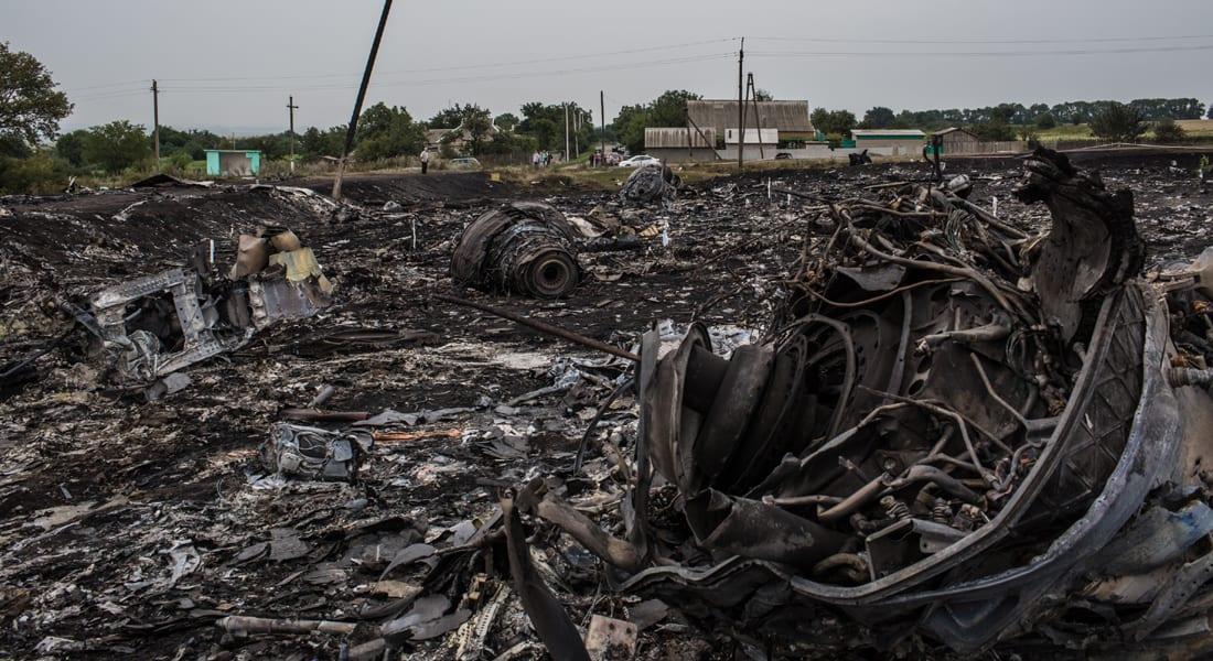 تقرير هولندي: أجسام عالية الطاقة شطرت الطائرة الماليزية في الهواء فوق أوكرانيا