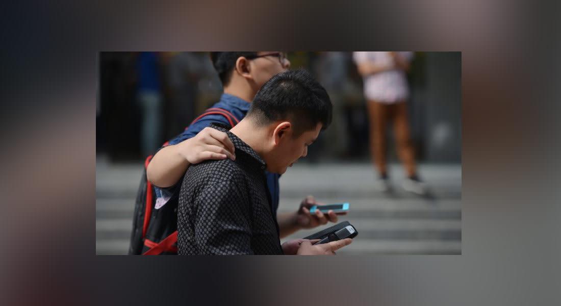 الصين تخصص طرقات لمستخدمي الهواتف المحمولة