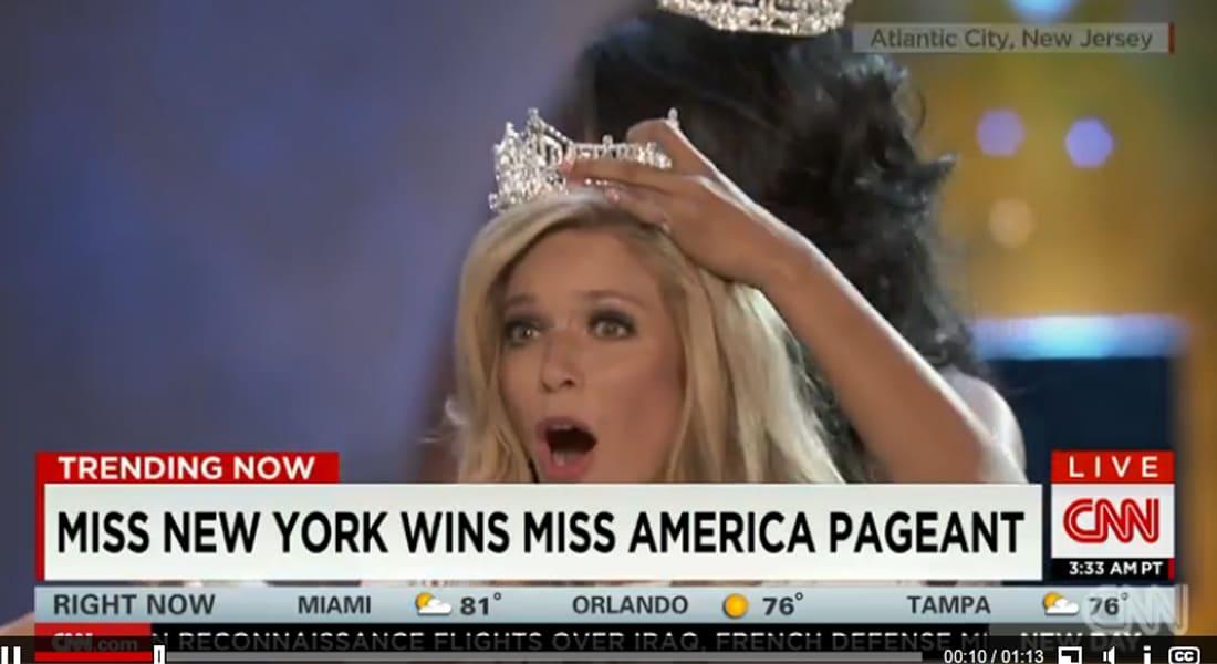 للمرة الثالثة على التوالي.. ملكة جمال أمريكا من نيويورك