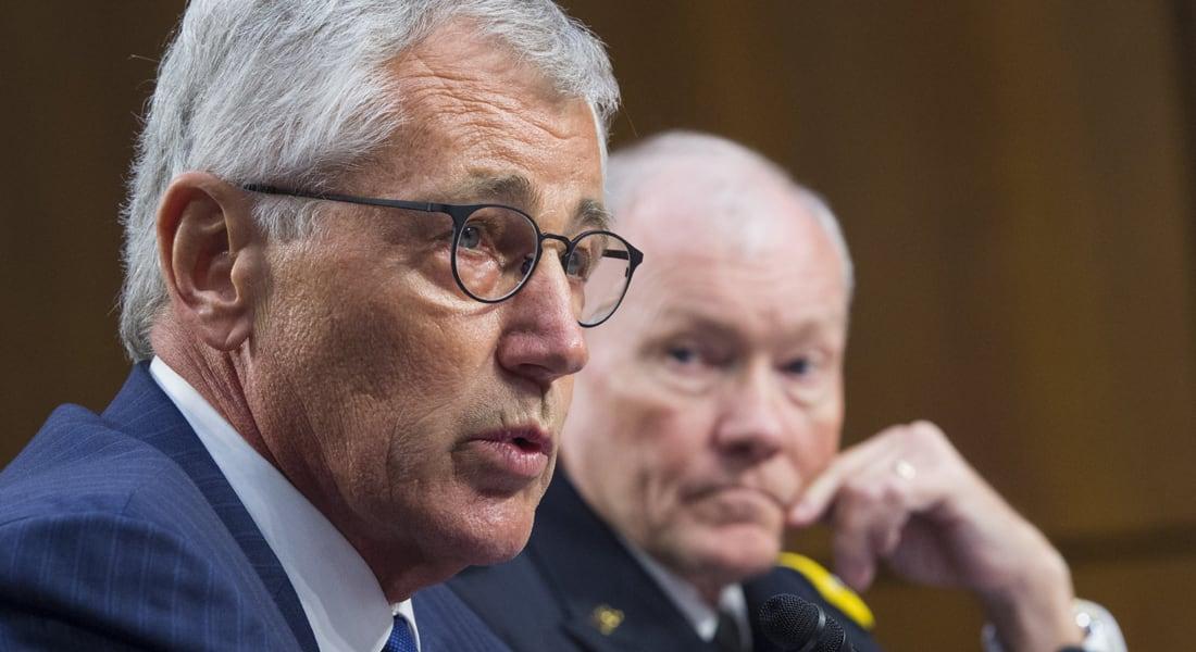 هيغل: توافق اجتماع جدة على شن معركة شاملة ضد داعش.. ديمبسي: داعش يريد بسط نفوذه من جنوب إسرائيل للكويت