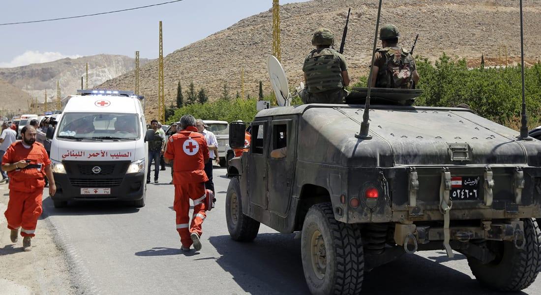 """لبنان.. قتيلان بانفجار استهدف آلية عسكرية في """"عرسال"""" وتوقيف 8 سوريين"""