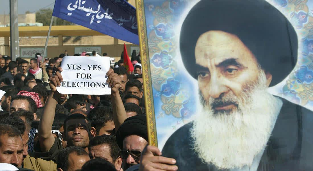 """صحف: السيستاني يؤيد التدخل الأجنبي في العراق وداعش يؤسس """"الشرطة الإسلامية"""""""