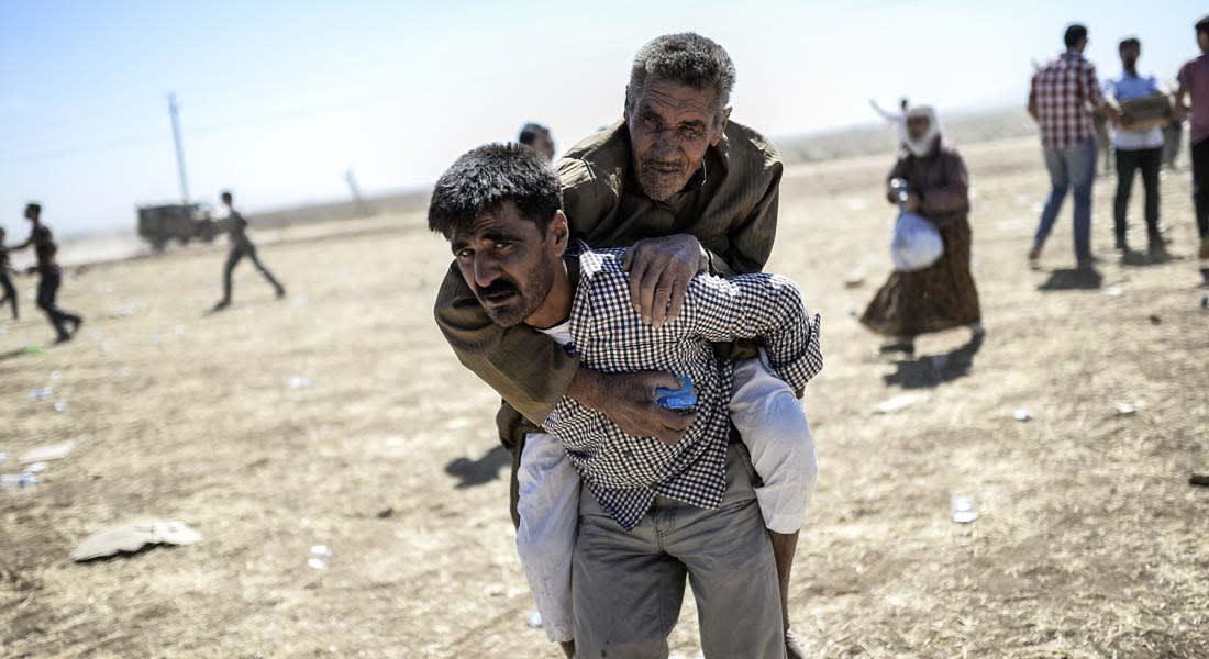"""""""داعش"""" يعدم 11 كرديا في عين العرب ومئات من أكراد تركيا يشاركون بمحاربته"""