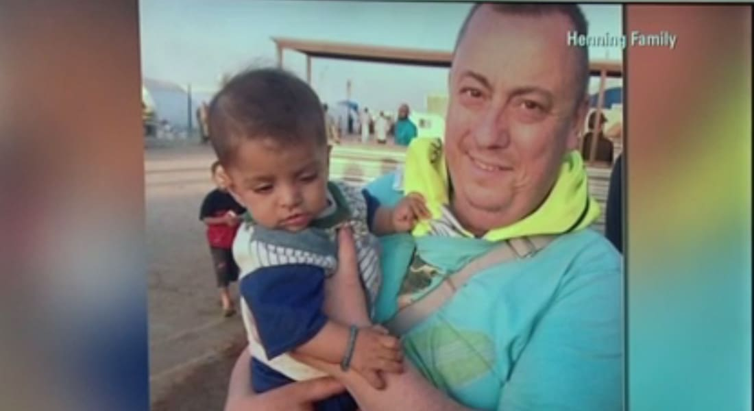 زوجة بريطاني تناشد داعش عدم قتله: زوجي ترك عائلته وعمله لإيصال الطعام إلى المحتاجين بسوريا