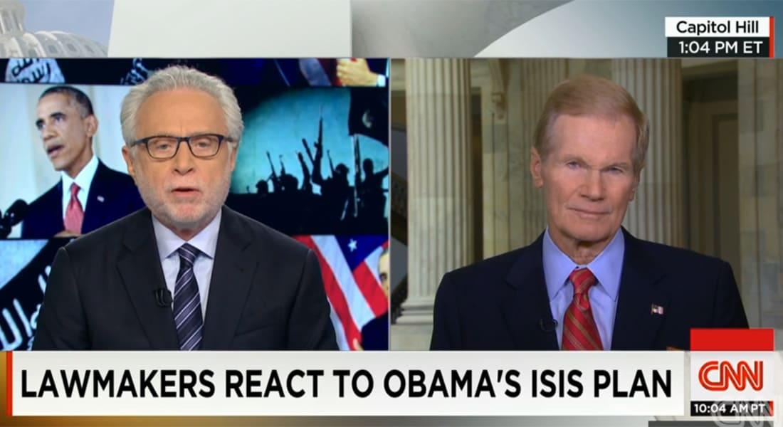 نيلسون لـCNN: قد ندعم بريّاّ المجموعات السنية المقاتلة لداعش.. وتركيا يمكن لها المشاركة سرا