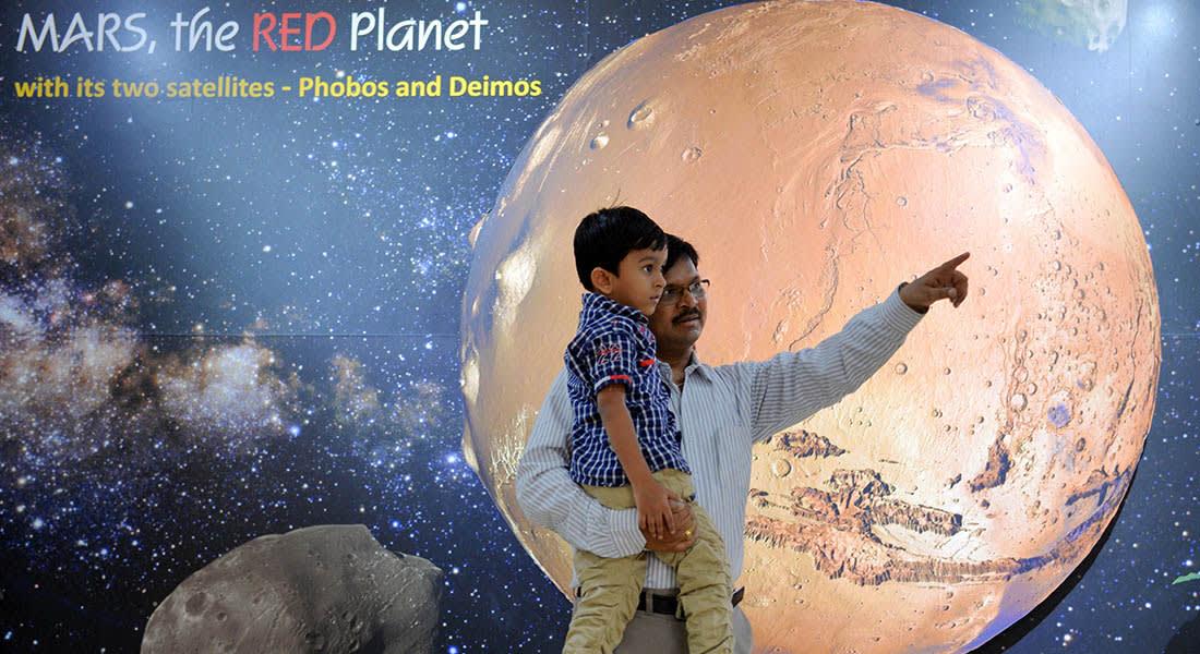 نجاح البعثة الفضائية الهندية في دخول مدار كوكب المريخ للمرة الأولى