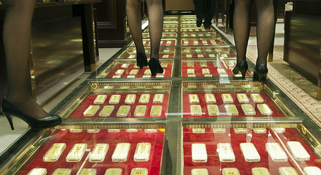 """صحف العالم: رصف ممرات مركز تجاري في الصين بالذهب لأنه """"يجلب الحظ"""""""